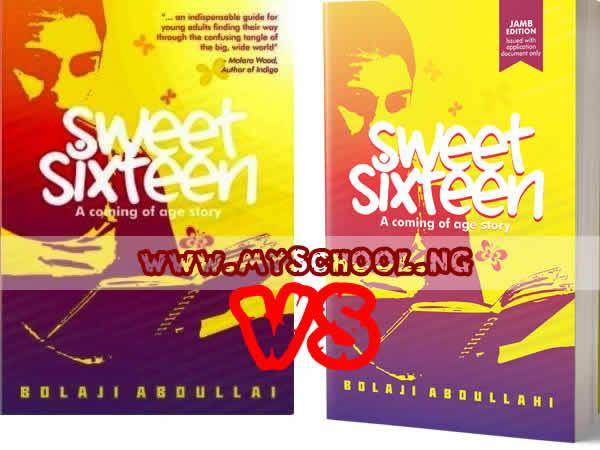 JAMB Question: Correct Author's Name for Sweet Sixteen; Abdullai or Abdullahi