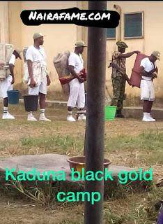 Soldiers Make Kaduna Corpers Carry Mattresses Like a Baby as Punishment