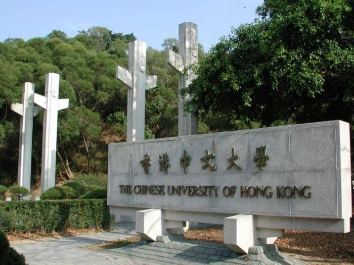 Honor Scholarships at Chinese University of Hong Kong, 2021