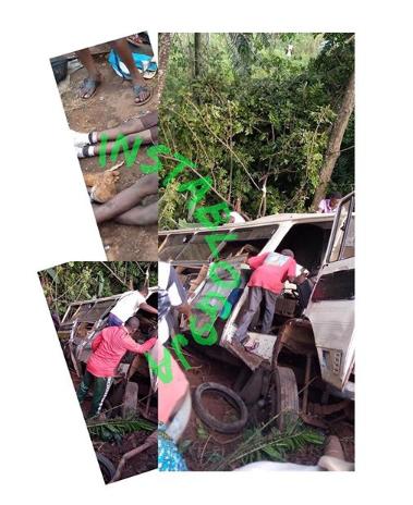 Truck Rams into School Bus killing all Occupants in Enugu