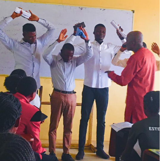 Ede poly lecturer punishes students for being late to his class