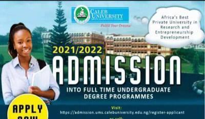 Caleb University Post-UTME 2021: Eligibility and Registration Details