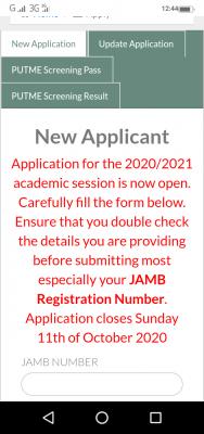 OOU extends Post-UTME registration deadline for 2020/2021 session
