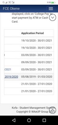 FCE okene extends post UTME/Direct Entry registration deadline for 2020/2021 session