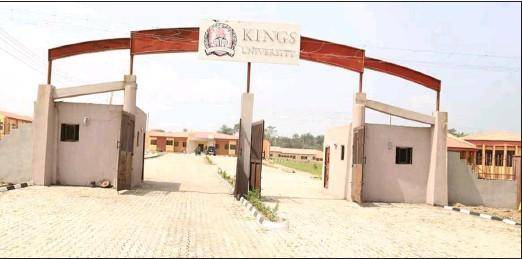 Kings University, Ode-Omu Osun State Post-UTME/DE 2019: Courses, Eligibility, Application Details