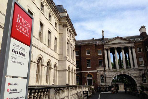 International Hardship Fund At King's College London, UK 2019