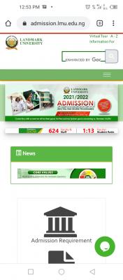 Landmark University Post-UTME 2021: Eligibility and Registration Details