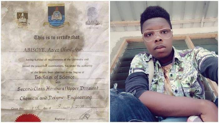 Nigerians React After IG User Shared Lasu Certificate Used to Wrap the Suya He Bought
