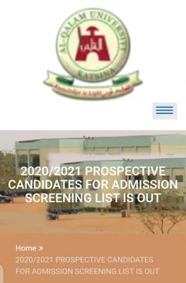 Al-Qalam University Post-UTME 2020: Cut-off mark, Eligibility and Registration