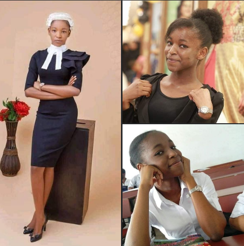 20-yrs-old Esther Chukwuemeka, becomes the youngest lawyer to be called to the Nigerian Bar