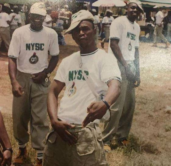 NYSC Celebrity Throwback, Who Could This Be?