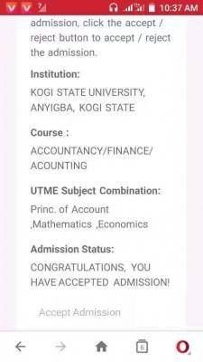 KSU Admission List, 2018/2019 Out On JAMB CAPS