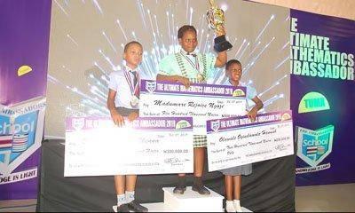 Meet the Winner of The Ultimate Mathematics Ambassador (TUMA) Competition