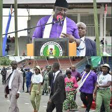 Imo State Gov. Awards 1,542 Corps Members  N10,000 Each During Their POP