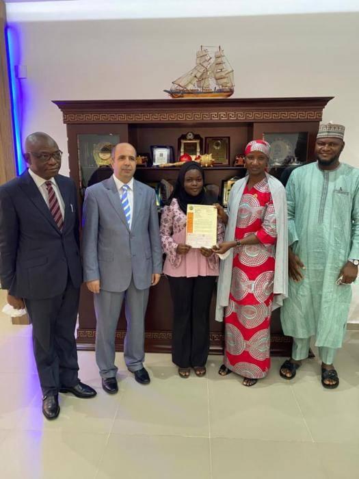 Nile University best graduating student in civil engineering gets full scholarship