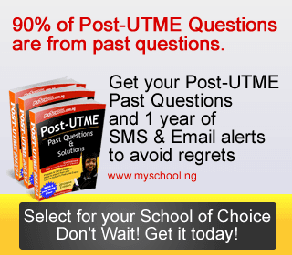 Post-UTME Past Questions & Exam Preparation Guide