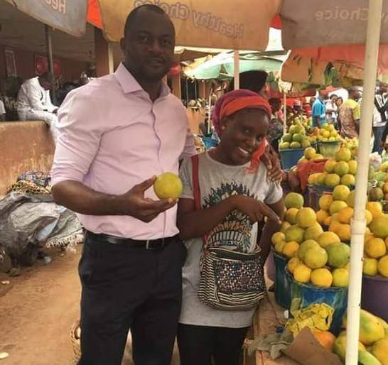 This BSU Graduate Sells Fruits at a Motor Park to Earn a Living