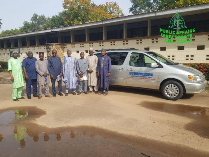 ABU Class of '91 Donates Bus to Civil Engineering Department