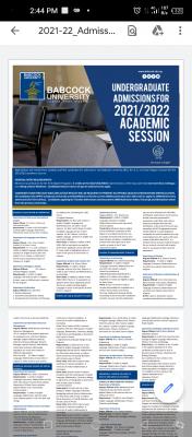 Babcock University Post-UTME 2021: Eligibility, Screening Dates and Registration details