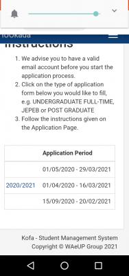 IUO new deadline for Post-UTME registration, 2020/2021
