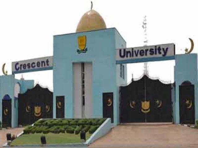 Crescent University notice on resumption and semester exam