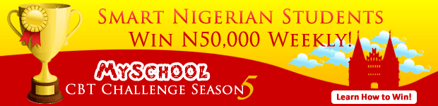 Myschool CBT Challenge Season 5 Begins - Cash Prize Of N200,000 To Be Won!
