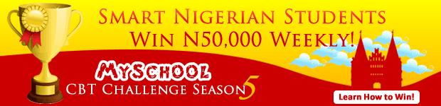 Myschool CBT Challenge Season 5 - Cash Prize Of N200,000 To Be Won!