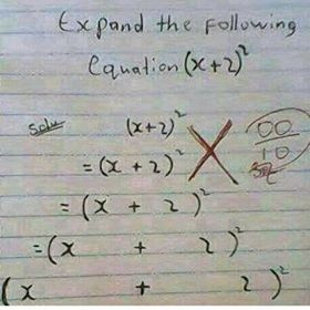See How A Student Solved This Equation, Right or Wrong?