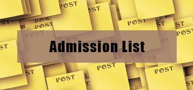 2019 Admission: List Of Schools That Have Released Admission Lists