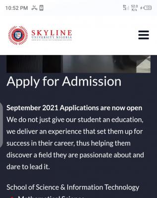 Skyline University Post-UTME 2021: Eligibility and Registration Details