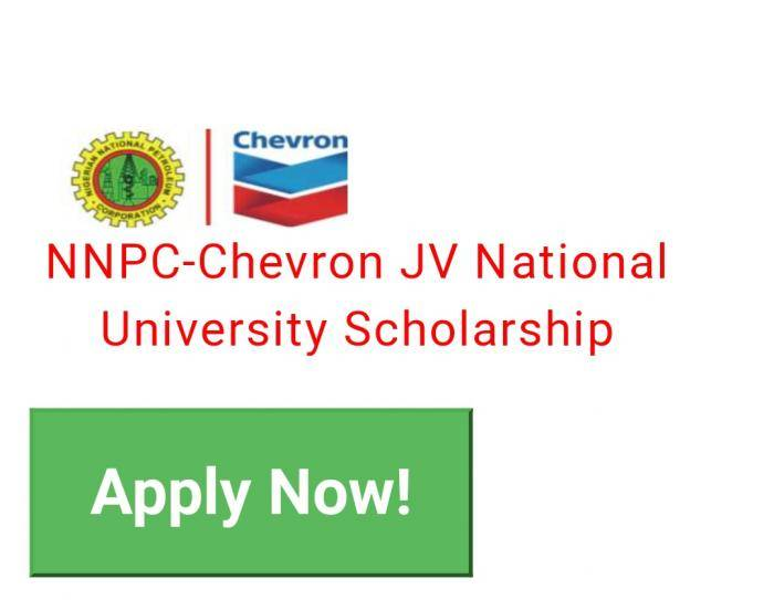 2020 NNPC/CNL JV National University Scholarship Awards