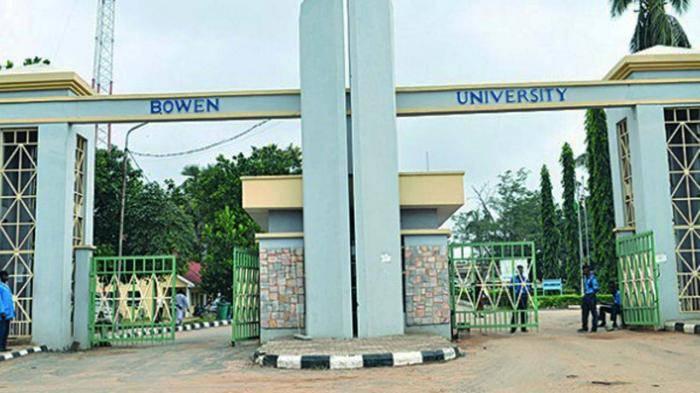 Bowen University postgraduate admission form for 2020/2021 session