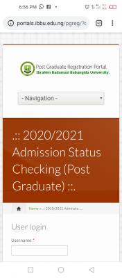IBBU 1st Batch Postgraduate Admission List, 2020/2021
