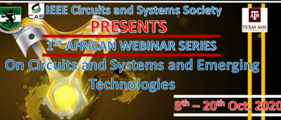 UNN to participate in 1st african webinar Series of IEEE Circuits and Systems Society (CASS)