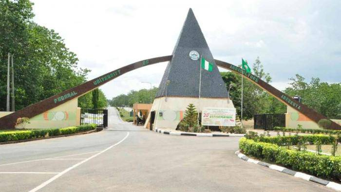 FUNAAB notice to final years students on submission of JAMB admission letters
