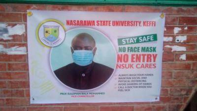NSUK VC urges students to adhere to the set COVID-19 protocols