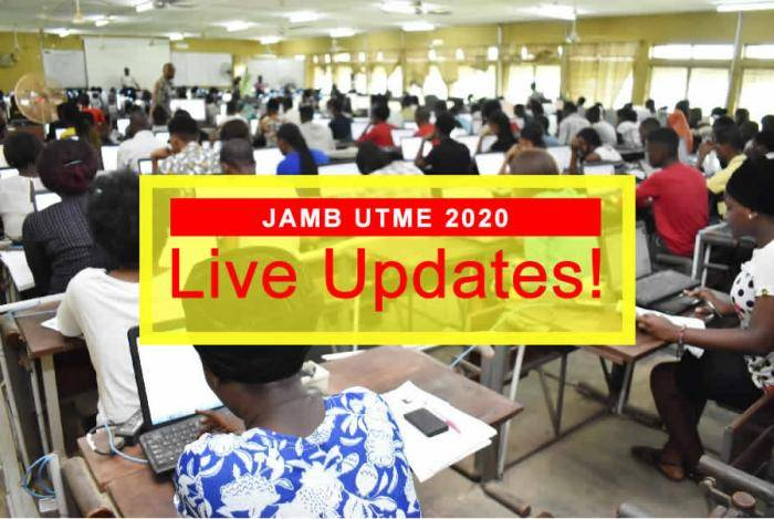 JAMB 2020 UTME 14th March - Live Updates!