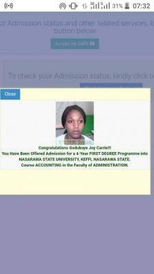 NSUK admission list, 2020/2021 out on JAMB CAPS