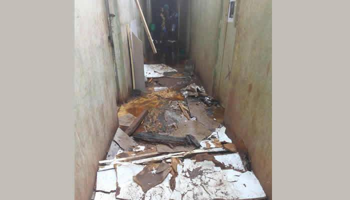 UNN Students Rendered Homeless Following a Heavy Rainstorm