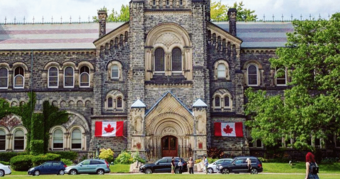 2020 President's International Scholarship of Excellence at University of Toronto - Canada