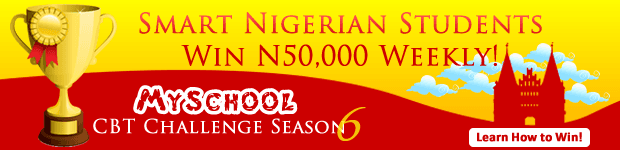 Myschool CBT Challenge Season 6 - N300,000 Worth of Prizes To Be Won!