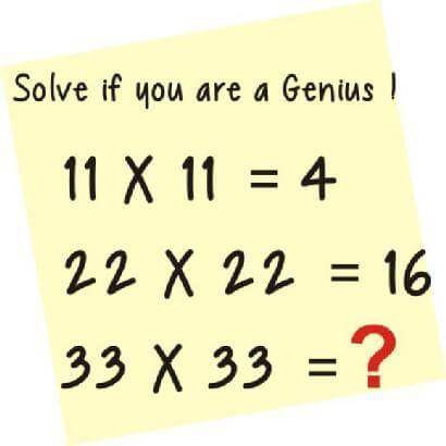 Are You a Genius? Solve This