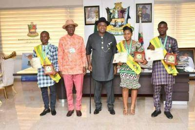 Gov. Diri awards scholarship to another first class law graduate