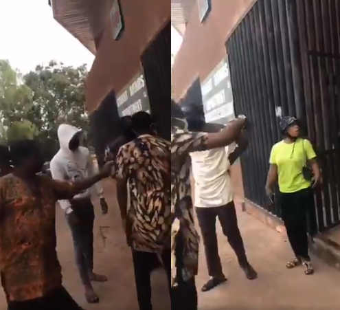 UNN staff accused of harassing a student, making her kneel from 10am to 5pm due to her dressing (video)