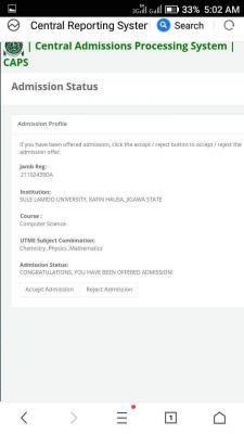Sule Lamido University admission list, 2020/2021 out on JAMB CAPS