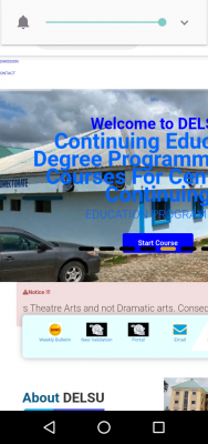 DELSU notice to 2020 Post UTME candidates on change of course