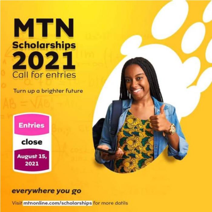 2021 MTN Scholarship Scheme For Nigerians