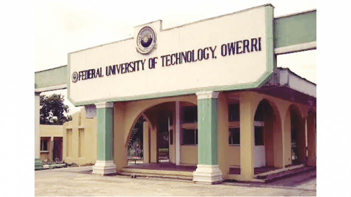 FUTO Batch F Supplementary Admission List, 2018/2019 Out