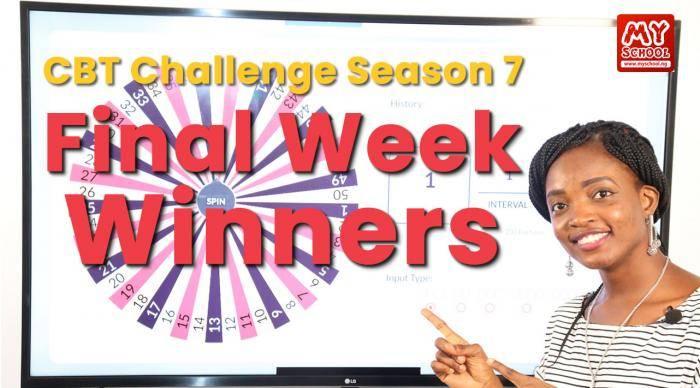 Updated: Final Winners of the Myschool CBT Challenge Season 7