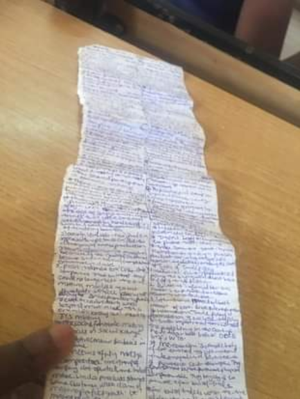 UNN student caught with a 'micro chip' during exams
